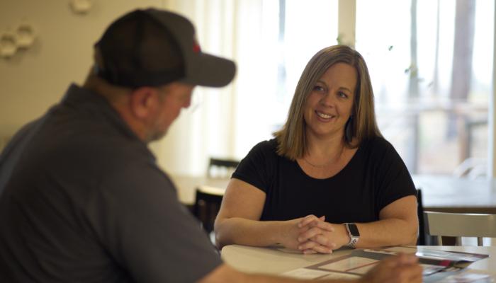 Bensons Tech Working With Customer