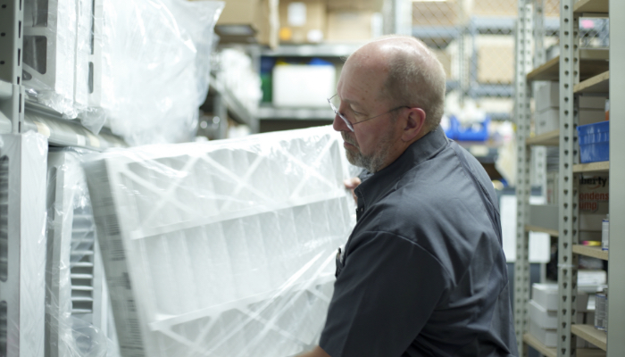 Bensons Technician In Warehouse Filters